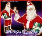CHRISTMAS FANCY DRESS # GENTS DELUXE SANTA COSTUME MED